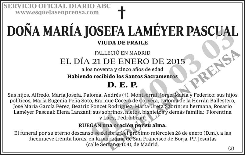 María Josefa Laméyer Pascual